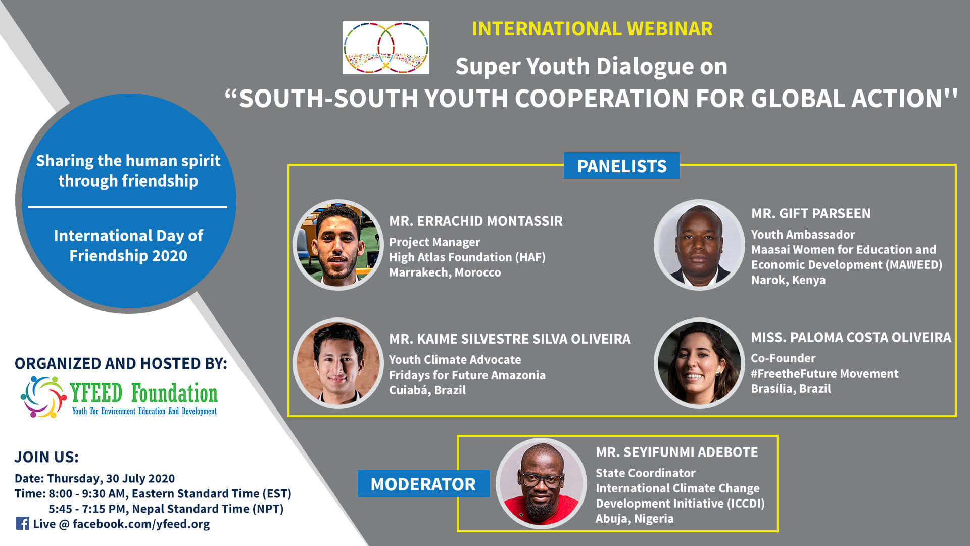 SOUTH-SOUTH YOUTH COOPERATION
